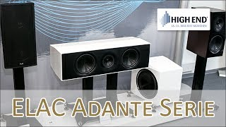 ELAC Adante & ELAC Alchemy Serie hands on