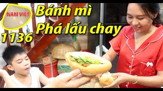 Bánh mì phá lấu chay - ngon hết sẩy - Nam Việt 1136