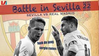 Koploper Luuk De Jong Versus Sergio Ramos: 'Op Jacht Naar Zijn Eerste Goal!'
