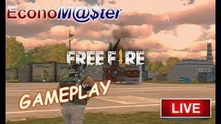 Free Fire Battleground (mobile) - Jogando com a turma - Nickname: Economaster1