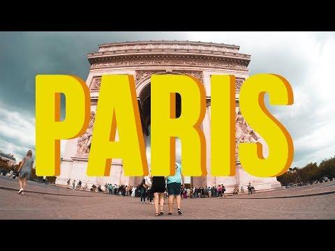 EUROPE TRAVEL VLOG #1 - PARIS!