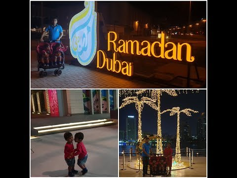 Twins friends forever || Al Seef Dubai Creek ||HoneyBunny friday evening fun||NRI Twins mother