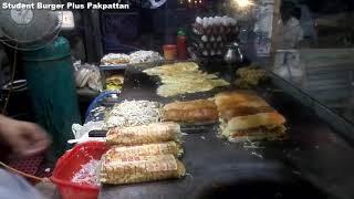 angry burger recipe - student burger plus - angry burger pakistani -  simple burger - Fast Food 786