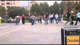 Flashmob con bebés Mallorca 2015