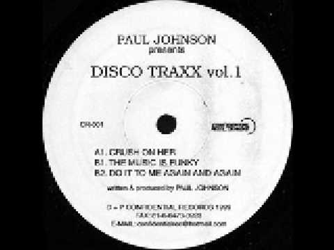 Paul Johnson - Do It To Me Again (Confidential Records)