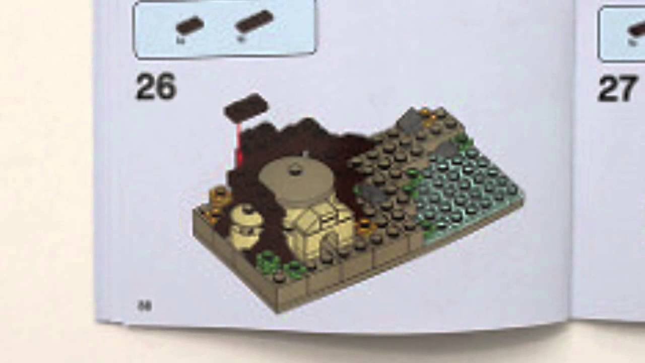 lego mini at at instructions