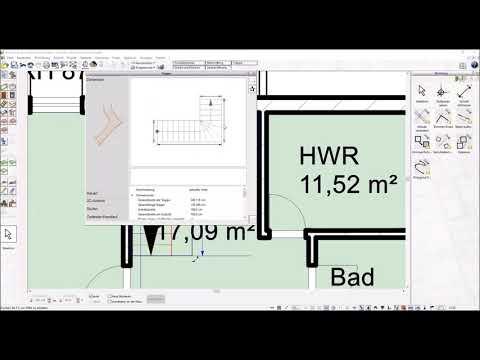 Download L Treppe & Deckenöffnung zeichnen   Plan7Architekt