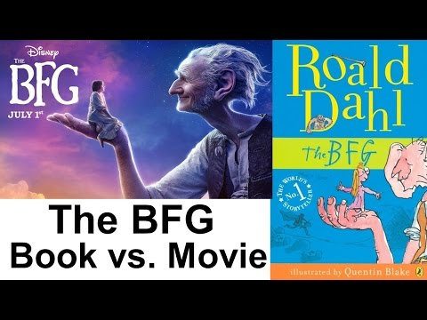 Book V Movie THE BFG Big Friendly Giant YouTube