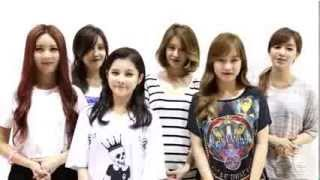 T-ARA Hawaii International Music Awards Festival Greeting