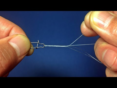 Strongest And Easiest Fishing Knot For Lure And Swivels, Snaps