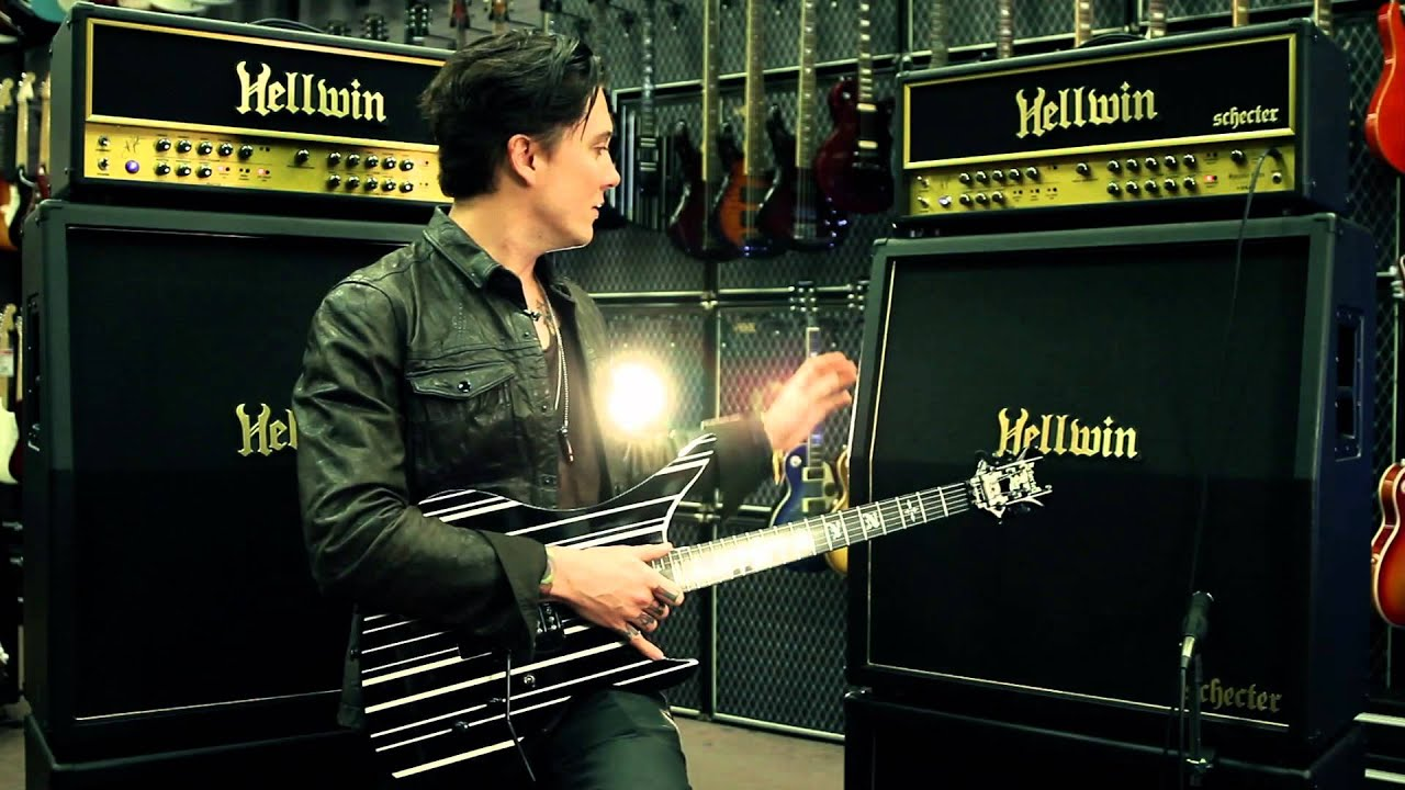 Synyster Gates Schecter Hellwin Signature Amp At Guitar