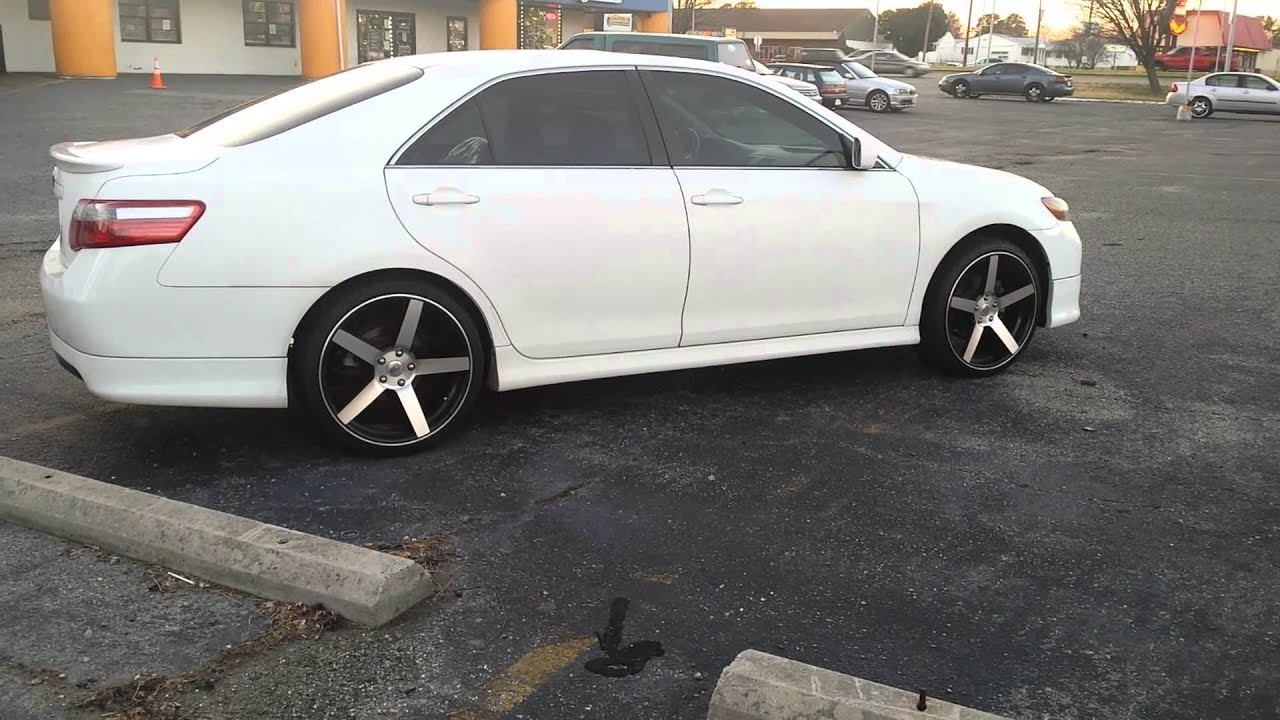 Toyota Camry Rims Custom Wheels Ace Alloy Aspire 20x8 With Bbs 2007 Sitting On 20 39 Rev 208 Rimtyme Hampton 3233 West Mercury Blvd Youtube