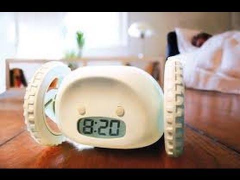Убегающий будильник Alarm Clocky Run ! Вы не проспите!