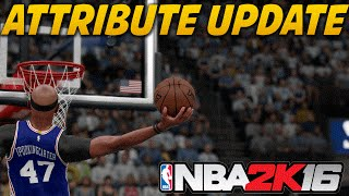 NBA 2K16 My Career - How to Get All Gold Badges & IKC Attribute Update For PG | 2K16 PS4 Gameplay