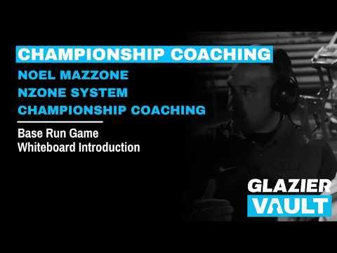 Base Run Game Whiteboard Introduction Noel Mazzone