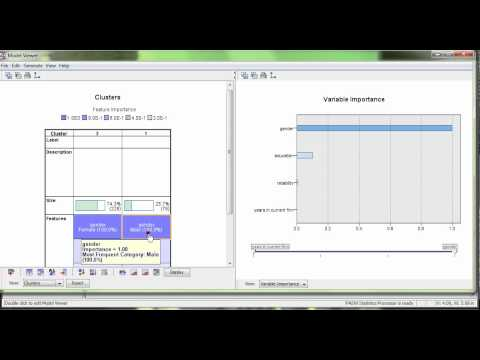 Two-step Cluster Analysis in SPSS