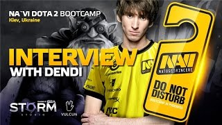 Interview with Dendi @ Na`Vi Bootcamp (ENG subs)