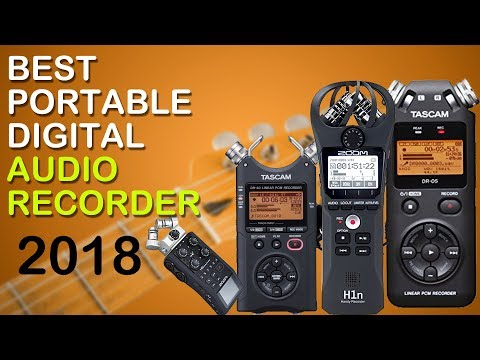 Top 5 best Portable Digital Audio Recorder 2018
