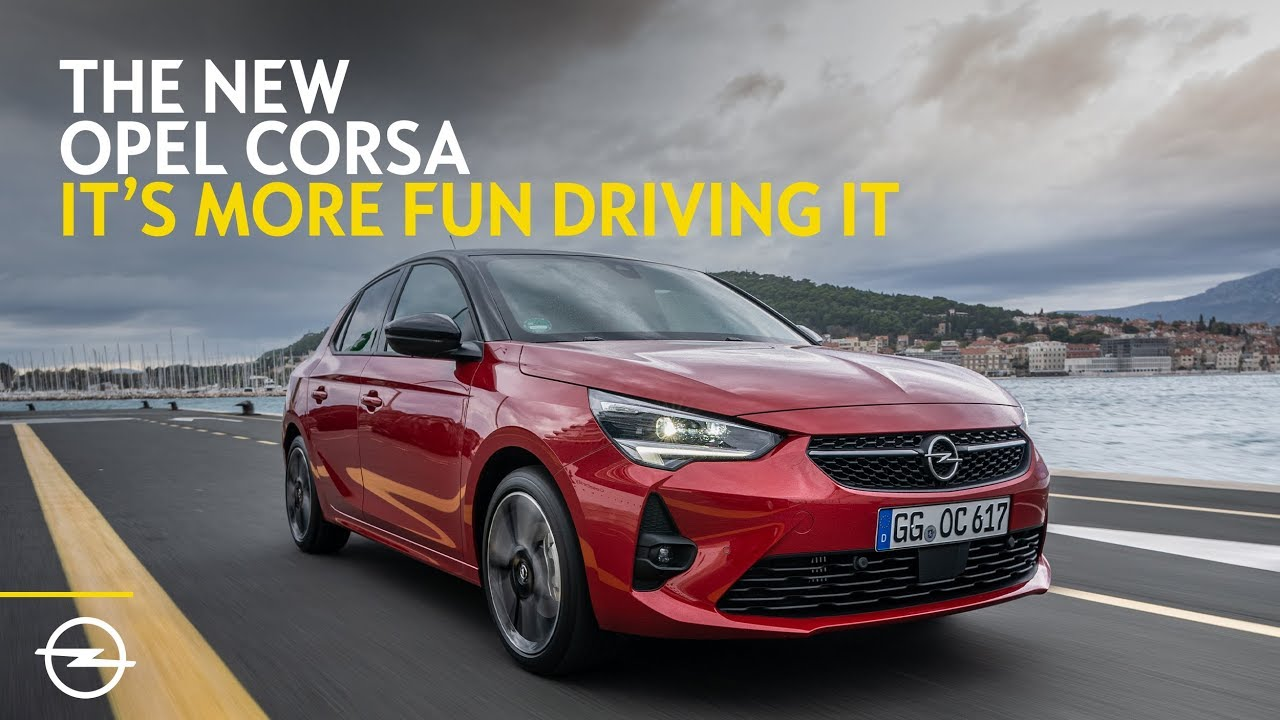New Opel Corsa The Small Car That S Fun In The City Youtube