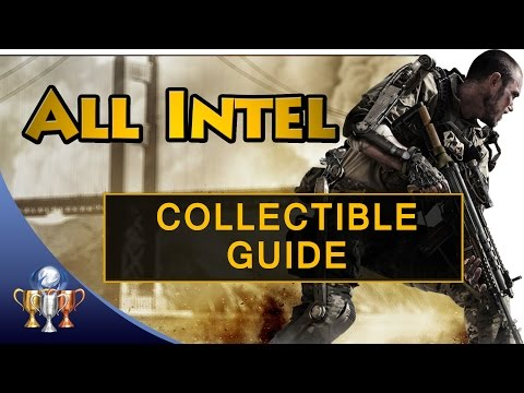 Call of Duty Advanced Warfare - All 45 Intel Collectibles Locations - Ferrum Absconsum