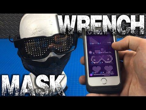 """Wrench"" Gadget Mask - Watchdogs 2 Prototype v.2 - GreekGadgetGuru"