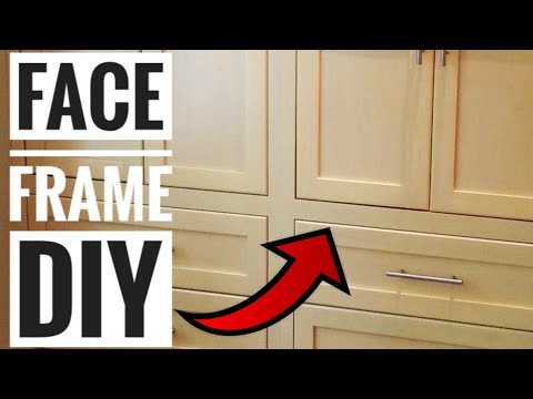 The Basics of Making Cabinets: How to make a DIY Cabinet Face Frame