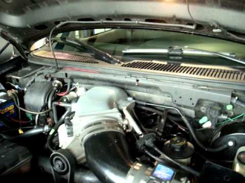 Ford Lightning with Magnum Powers Supercharger and OBX Headers 2