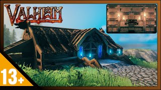 Valheim: How To Buİld End Game Storage Building & Storage System (Build Guide)