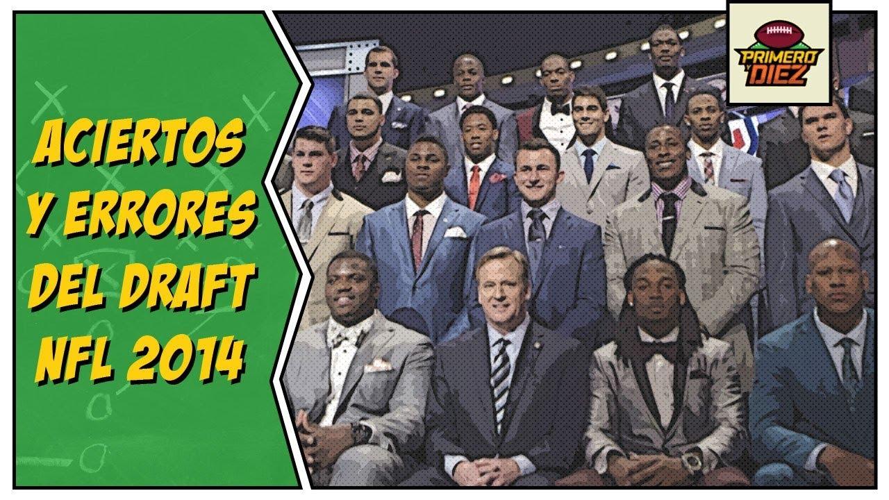 Aciertos y errores de Draft NFL 2014