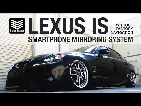 Beat-Sonic IF-04EP Smartphone Mirroring Kit for Lexus