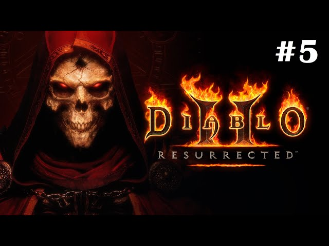 Diablo II Resurrected [Walkthrough Part 5] [Technical Alpha] [1440p] [Ultrawide] - Gameplay PC