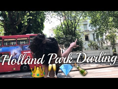Beautiful Walk in Holland Park, London | Royal Borough of Kensington & Chelsea