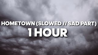 Hometown  Slowed  Sad   1 HOUR Resimi