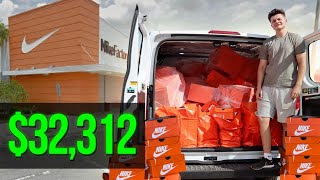 I Purchased $32,312 Worth Of Nike Shoes To Sell On Amazon FBA In One Weekend