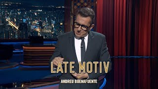 "LATE MOTIV - Monólogo de Andreu Buenafuente. ""I´m in love with the pulpo"" 