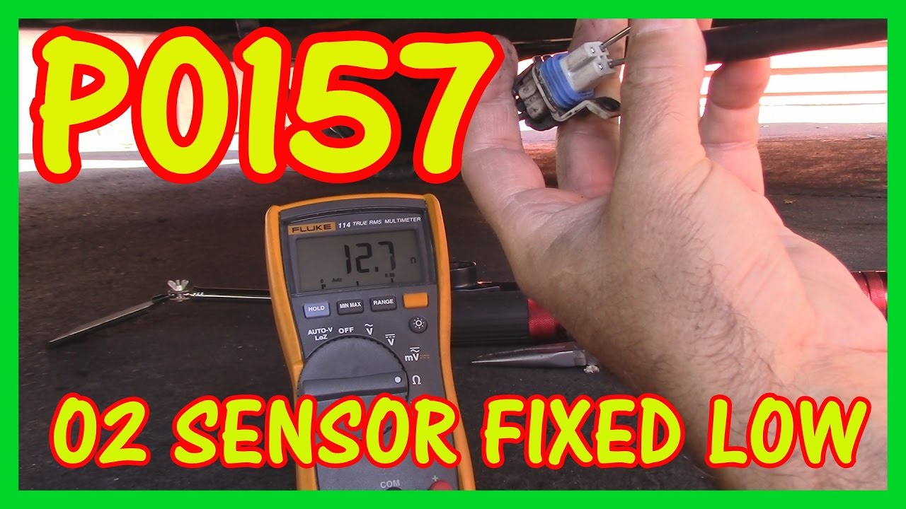 How To Diagnose A P0157 Code O2 Sensor Fixed Low Fluke 114 Meter Rover Wiring Diagram