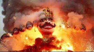 Big, Top, Huge Ravan Dahan Dussehra in Delhi (India)