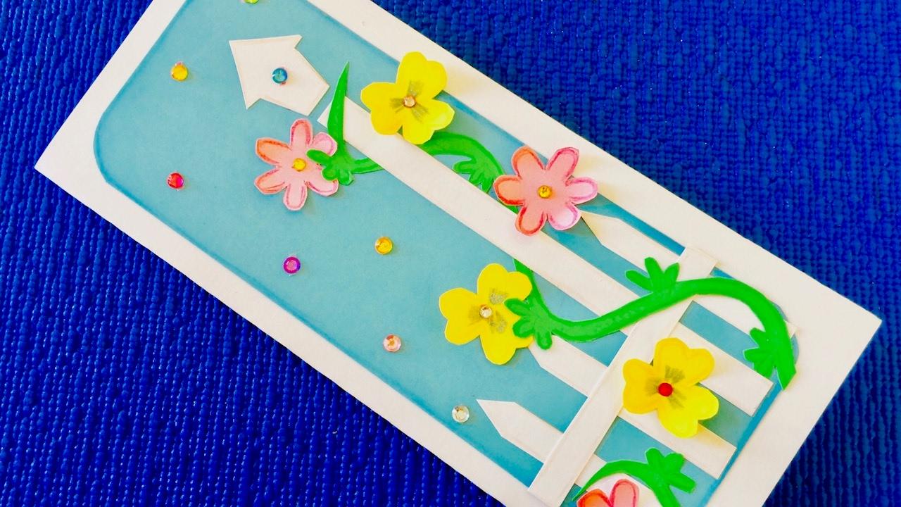 Как сделать волшебную открытку для мамы