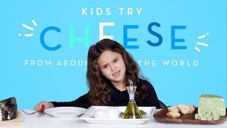 Kids Try Cheese from Around the World | Kids Try | HiHo Kids