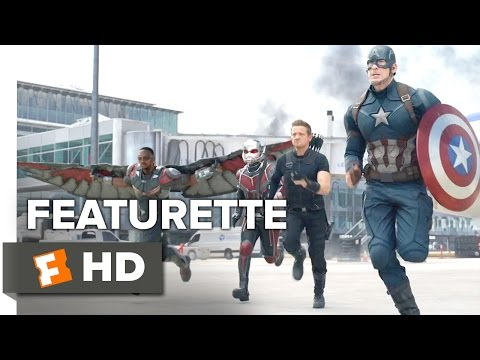 Captain America: Civil War Featurette - In Good Company (2016) - Scarlett Johansson Movie HD