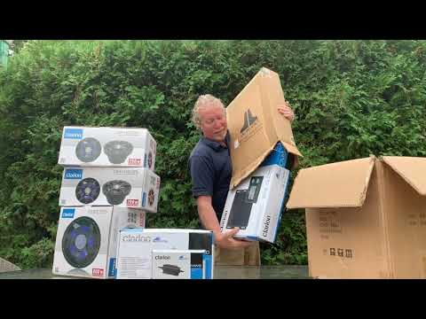 Clarion Marine Media System Episode One: Unboxing