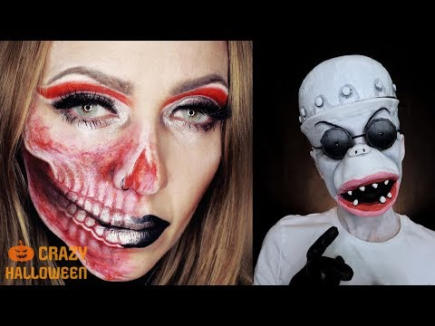 Top 10 Easy Halloween Makeup Tutorial Scary Compilation 2018