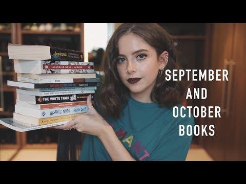 SEPTEMBER AND OCTOBER BOOKS | sunbeamsjess