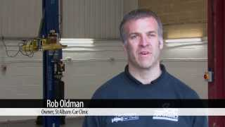 Customer Testimonial - St Albans Car Clinic talk about using ecotile floor tiles Thumbnail