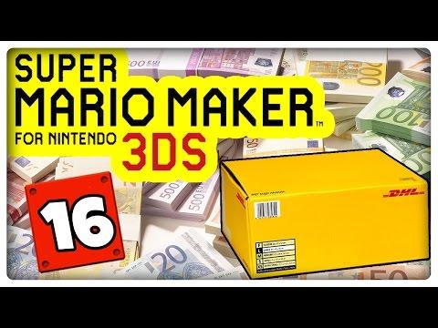 SUPER MARIO MAKER 3DS Part 16: DHL Deutsche Post zockt mich ab!