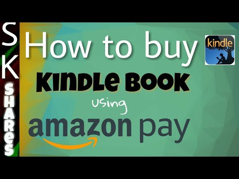Buy Kindle book using Amazon Pay from kindle store mobile app