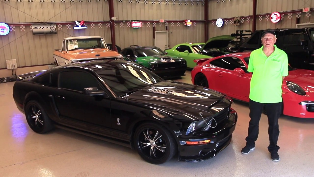 Shelby GT500 Mustang For Sale - Modern Muscle Cars - YouTube
