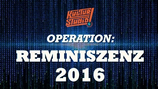 OPERATION: REMINISZENZ 2016 – Kulturstudio Jahresrückblick 2016