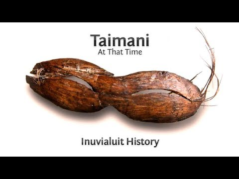 Taimani - 'At That Time': Inuvialuit History Timeline Introduction