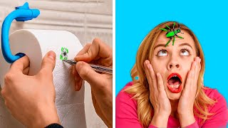 THE MOST SPOOKY PRANKS || Fun and Scary DIY Pranks by 123 GO! GOLD